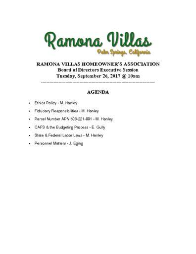 thumbnail of Executive Session 092617