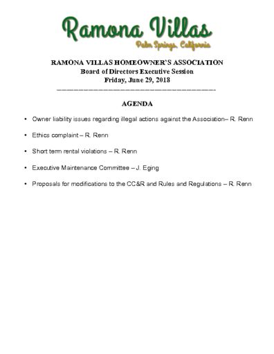 thumbnail of 062918-Agenda-for-Executive Session-FINAL-1